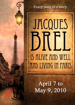 Brel Is Alive And Well And Living In Paris