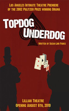 top dog under dog Topdog/underdog is about the men who hustle cards and take money from fools but these characters are not as slick as the con-men in david mamet's scripts they are soured, worn-out, self-reflective, and on the brink of destruction.