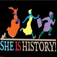 She Is History!
