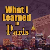 What I Learned in Paris