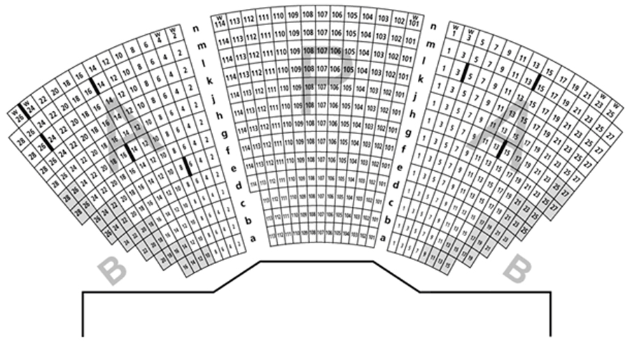 Segerstrom Stage Seating Chart