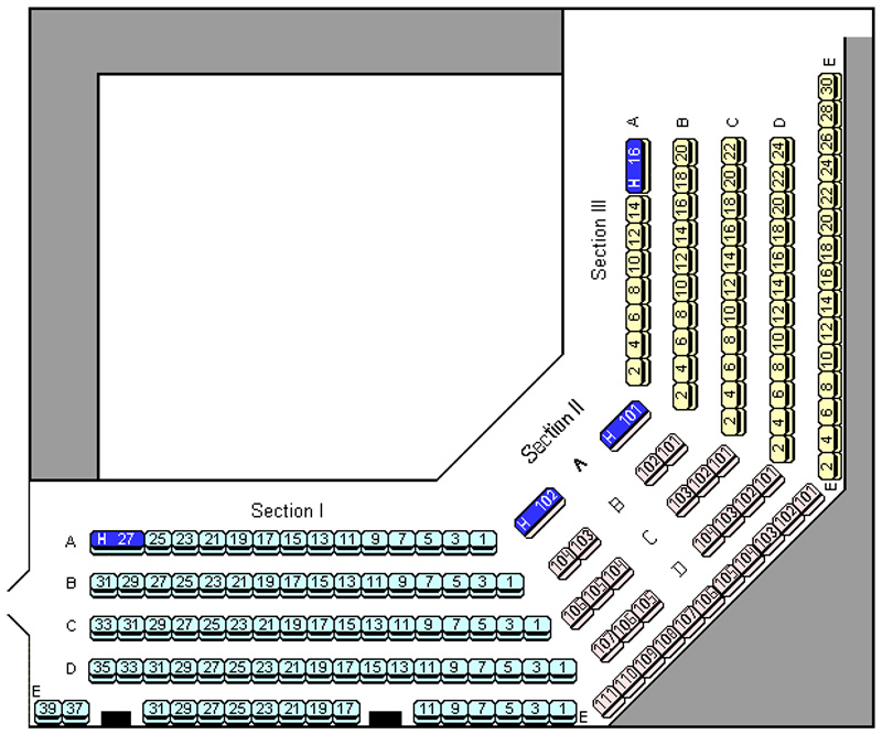 West Valley Playhouse Seating Chart